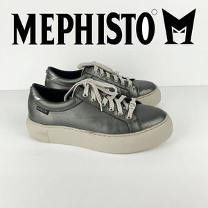 Mephisto Gyna (dark Gray Perl Calfskin/steel Magic